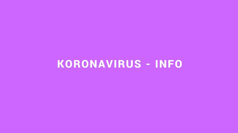 Koronavirus – Info